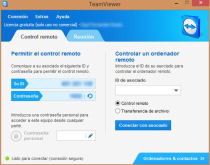 Sistema Remoto con TeamViewer